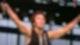 Bruce Springsteen am 19. Juli 1988 auf der Radrennbahn Weißensee