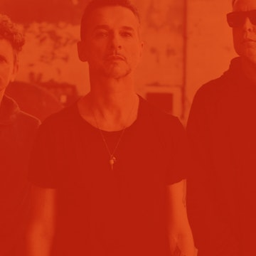 Depeche Mode mit Barrel of a Gun